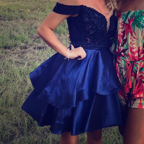 Camille La Vie Dresses & Skirts - Hoco dress beautiful royal blue